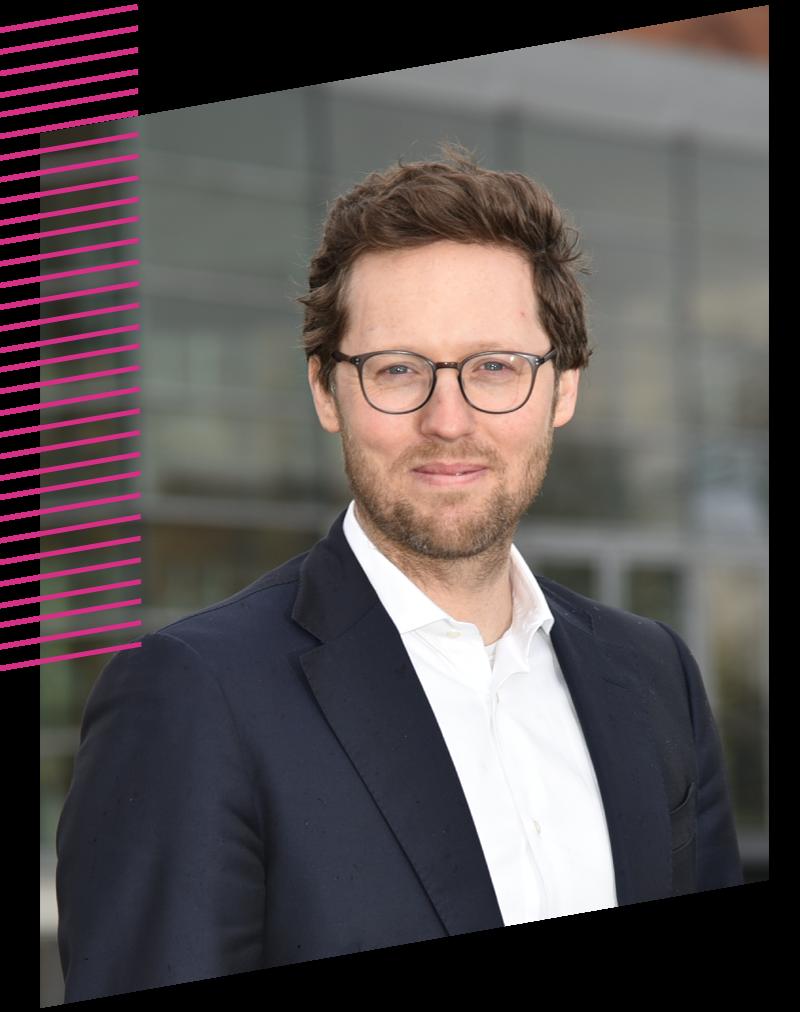 Portraitfoto von Jan Philipp Albrecht, Minister für Energiewende, Landwirtschaft, Umwelt, Natur und Digitalisierung von Schleswig-Holstein