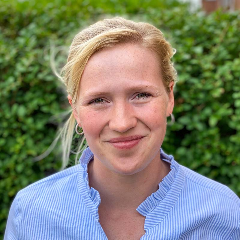 Portraitfoto von Verena Hillebrand